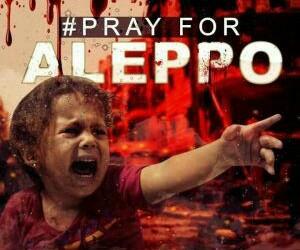 aleppo and pray for aleppo image