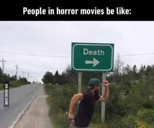 funny, death, and horror image