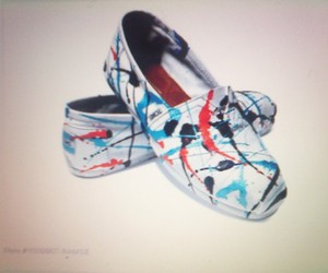art, toms, and splatter paint image