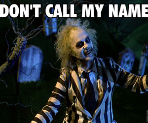 beetlejuice, funny, and alejandro image