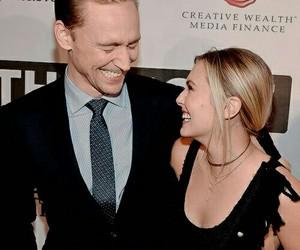 tom hiddleston, Avengers, and elizabeth olsen image
