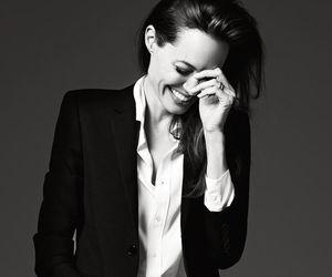 Angelina Jolie, beautiful, and smile image
