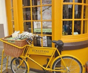 yellow, bike, and tumblr image