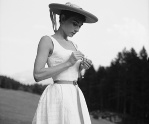 audrey hepburn, dress, and elegance image