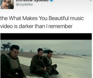 movie, dunkirk, and Harry Styles image