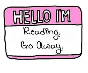 reading, book, and hello image