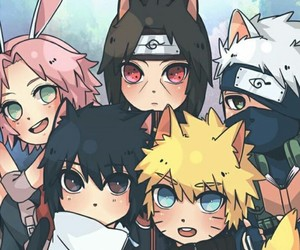 anime, kakashi, and sakura image