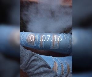 girl, shisha, and smoke image