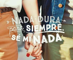 love, frases, and nada image