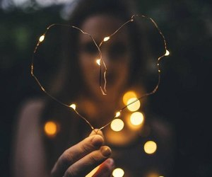 heart and lights image