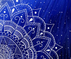 blue, draw, and wallpaper blue image