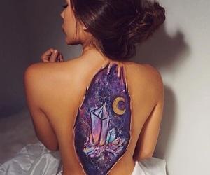 art, girls, and purple image