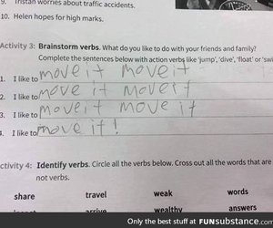 answer, english, and unexpected image
