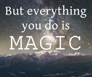 Lyrics, magic, and night image