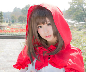 cosplay, little red riding hood, and cosplaystyle image