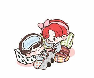exo, fanart, and kpop image