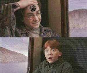harry potter, funny, and naruto image