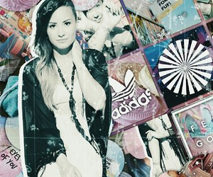 aesthetic, demi lovato, and pink image