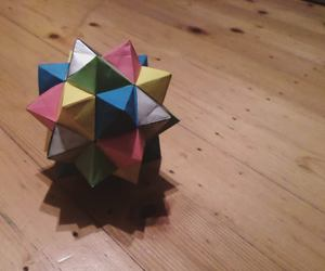 art, origami, and paper folding image