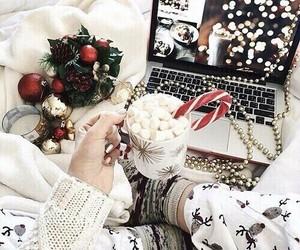 candycane, christmas, and white image