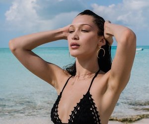 model, bella hadid, and summer image
