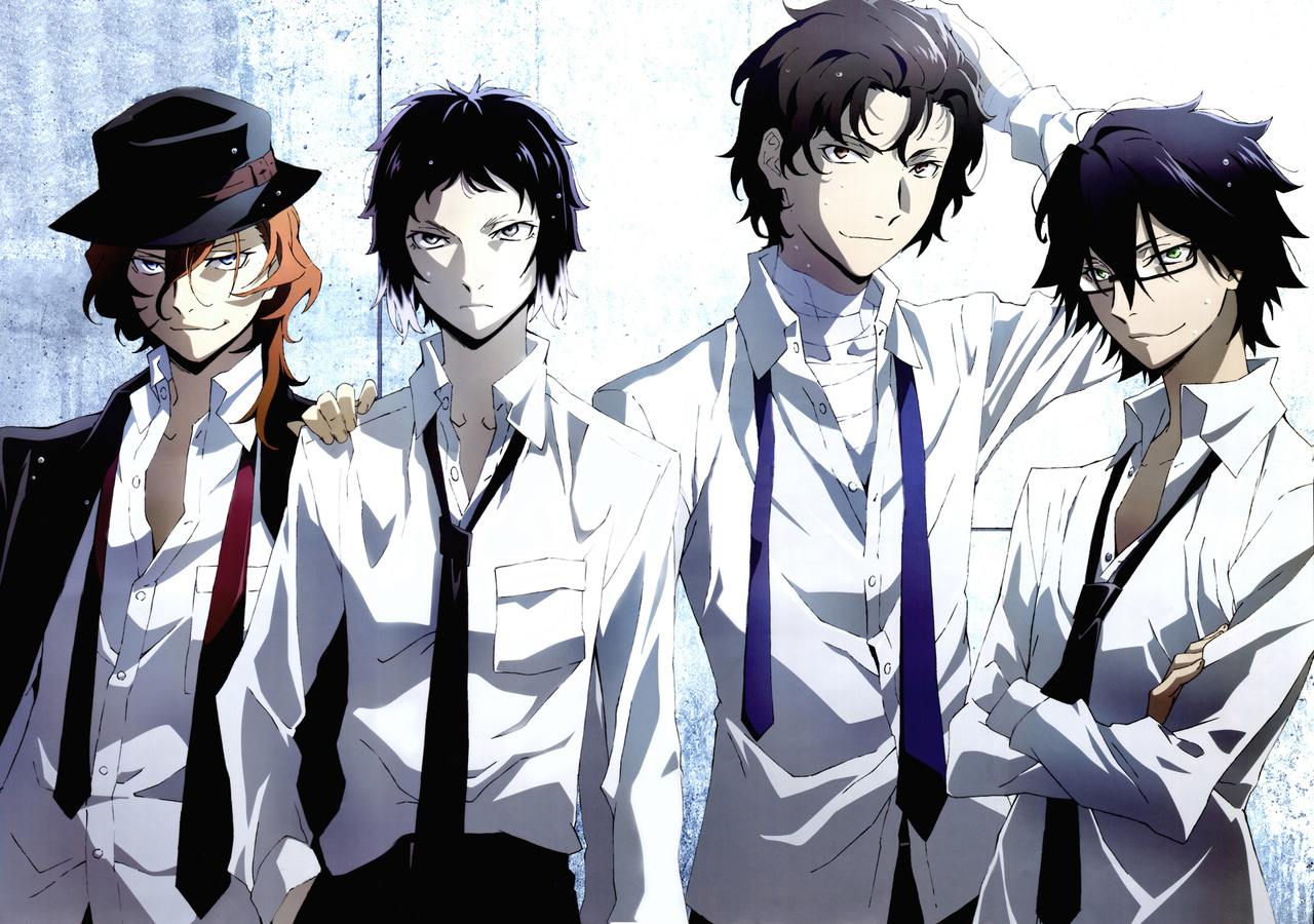 88 Images About Bungou Stray Dogs On We Heart It See More About Bungou Stray Dogs Anime And Dazai