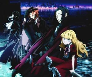 bungou stray dogs, anime, and port mafia image
