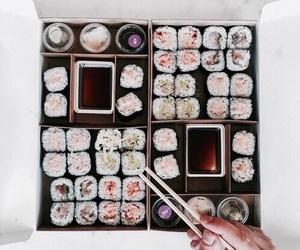 life, 😋, and sushi image