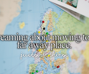 Dream, travel, and far away image