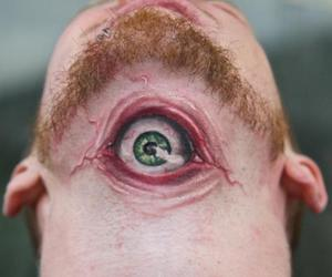 tattoo, eye, and cool image