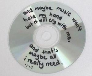 music, grunge, and cd image