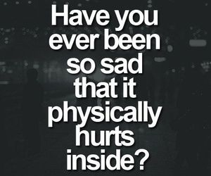 sad, quotes, and hurt image