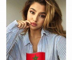 beauty, girls, and marocaine image