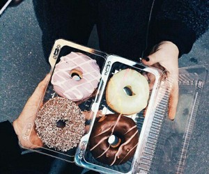 donuts and food image