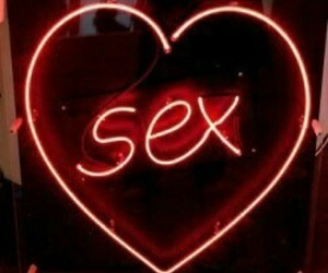 aesthetic, lights, and sex image