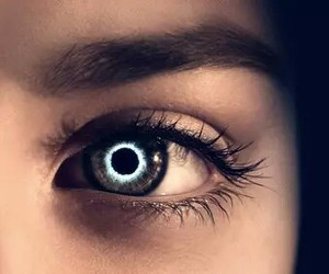 the host, eye, and blue image