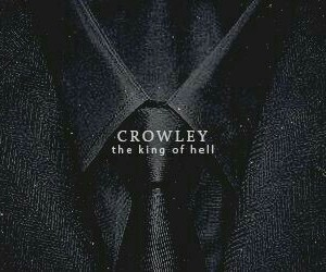 actor, demon, and crowley image