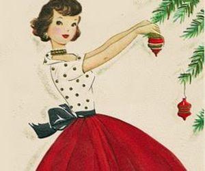 christmas, red, and holidays image