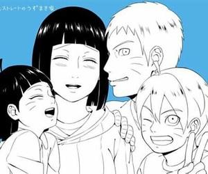 anime, naruto, and naruhina image