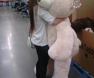 bear, teddy, and hug image