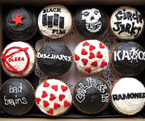 cupcake, misfits, and punk image