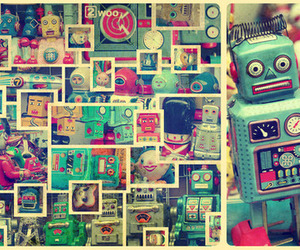 robot and cute image