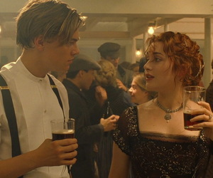 couple, drink, and kate winslet image