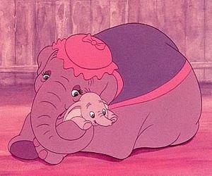 disney, dumbo, and elephant image