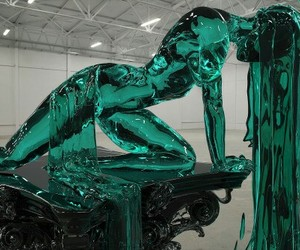 art, sculpture, and glass image