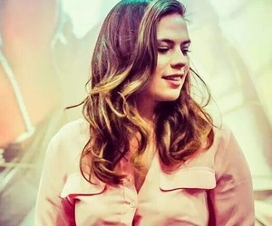hayley, peggy carter, and Marvel image
