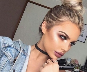 babe, makeup, and cutie image