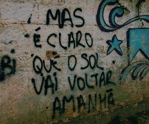 blue, cartaz, and grafite image