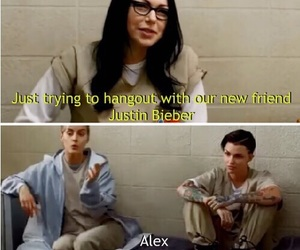 orange is the new black, alex, and ruby rose image