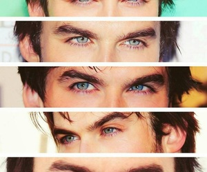 actor, blue eyes, and ian image